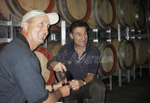 Greg Amaral and Bill Calabria -- Owner Westend Winery